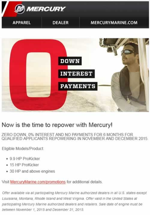 Mercury Repower Promotion