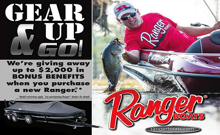 2017 Ranger Gear Up & Go - Boat Show Promotion