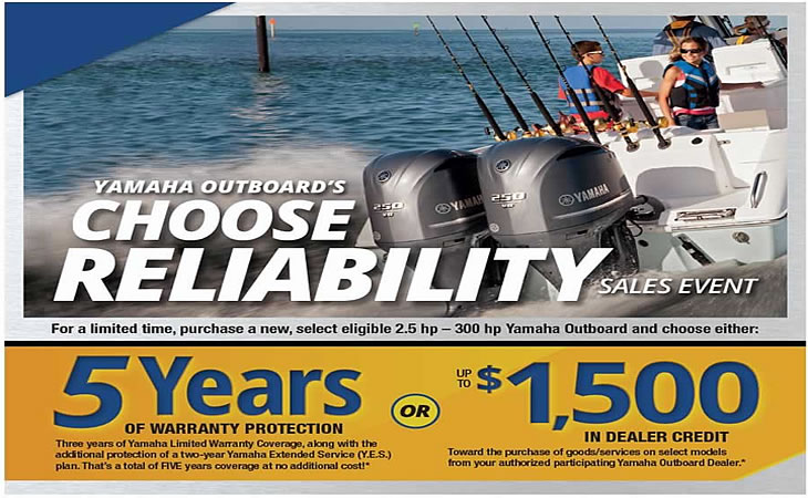 Yamaha 5 Years Y.E.S. Warranty Protection