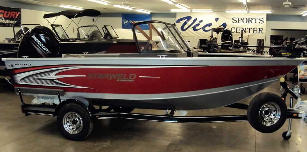 StarWeld Aluminum Fishing Boats
