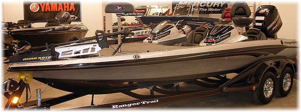 Ranger Boats at Vics Sports Center