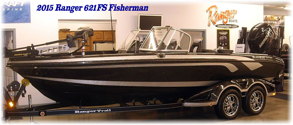 2015 Ranger 621FS Fisherman - Mercury Four Stroke