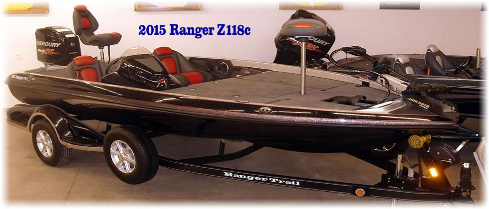 2015 Ranger Boats Z118c - Mercury Optimax