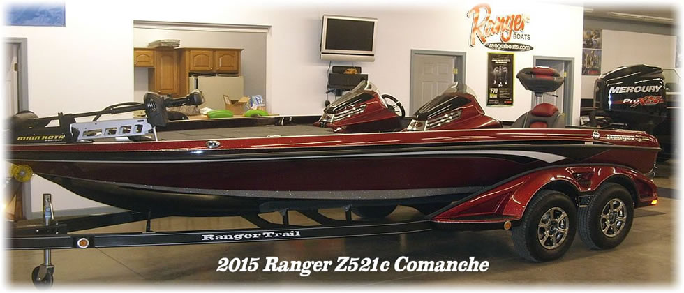 2015 Ranger Boats Z520c Mercury 250 Pro XS