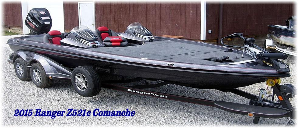 2015 Ranger Boats Z521c Comanche DC - Mercury Pro XS