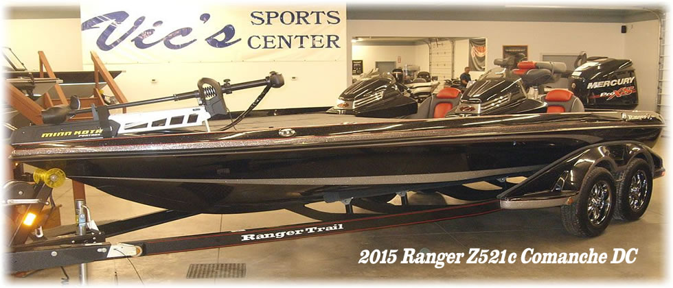 2015 Ranger Boats Z521c Comanche - Mercury 250 Optimax Pro XS