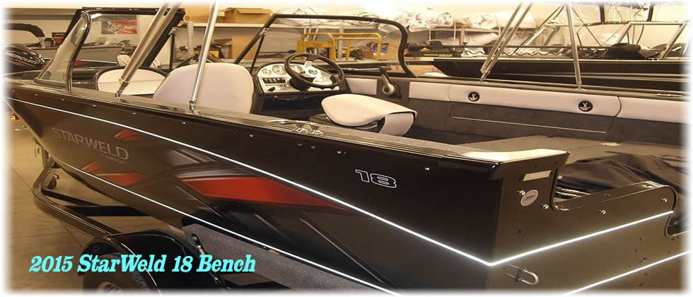 2015 StarWeld Boats 18 Bench