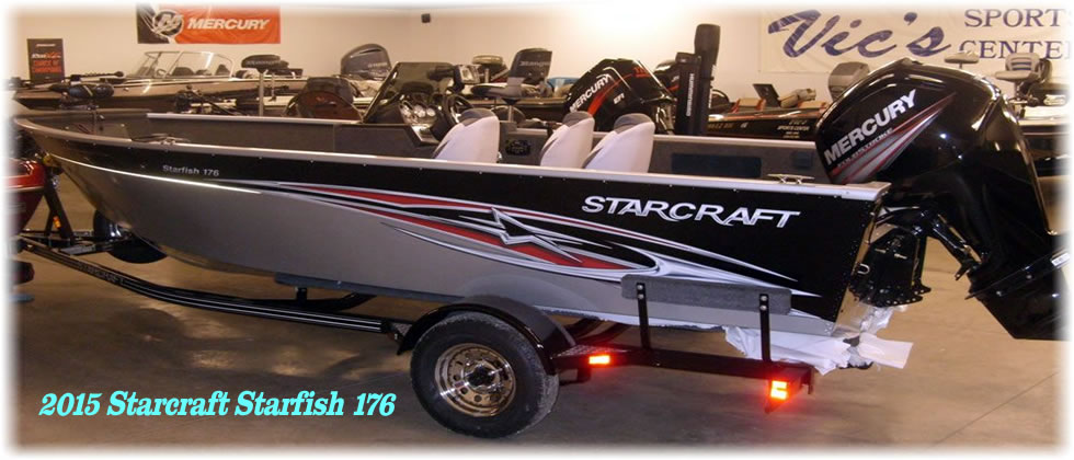 2015 Starcraft Marine Starfish 176 - Mercury 115 Four Stroke
