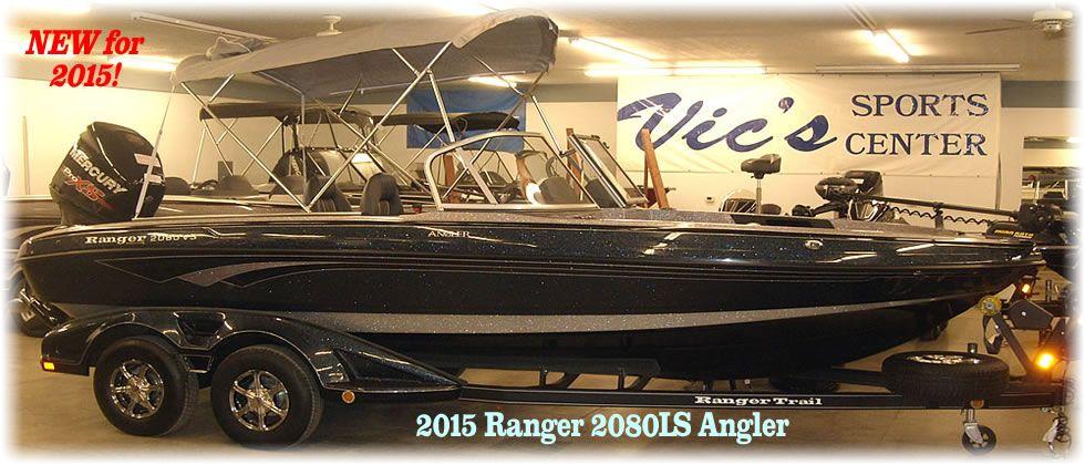 2015 Ranger 2080LS Angler - Mercury 250 Optimax Pro XS