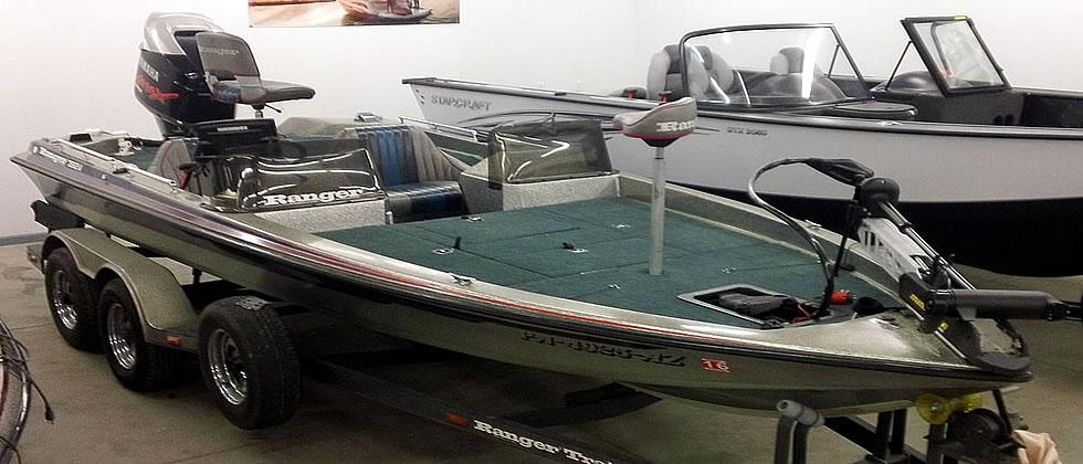 1991 Ranger 392V - Yamaha 175