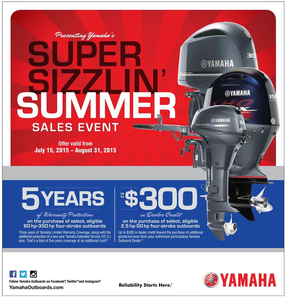 Yamaha Summer Promotion 2015