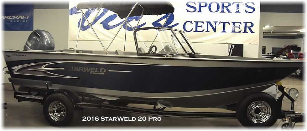 2016 StarWeld 20 Pro - Yamaha 150 Four Stroke