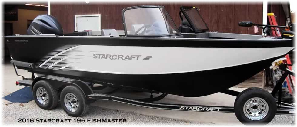 2016 Starcraft 196 FishMaster - Yamaha 200 Four Stroke