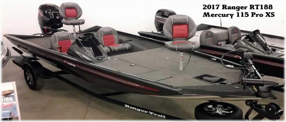 2017 Ranger RT188 - Mercury 115 Pro XS Four Stroke