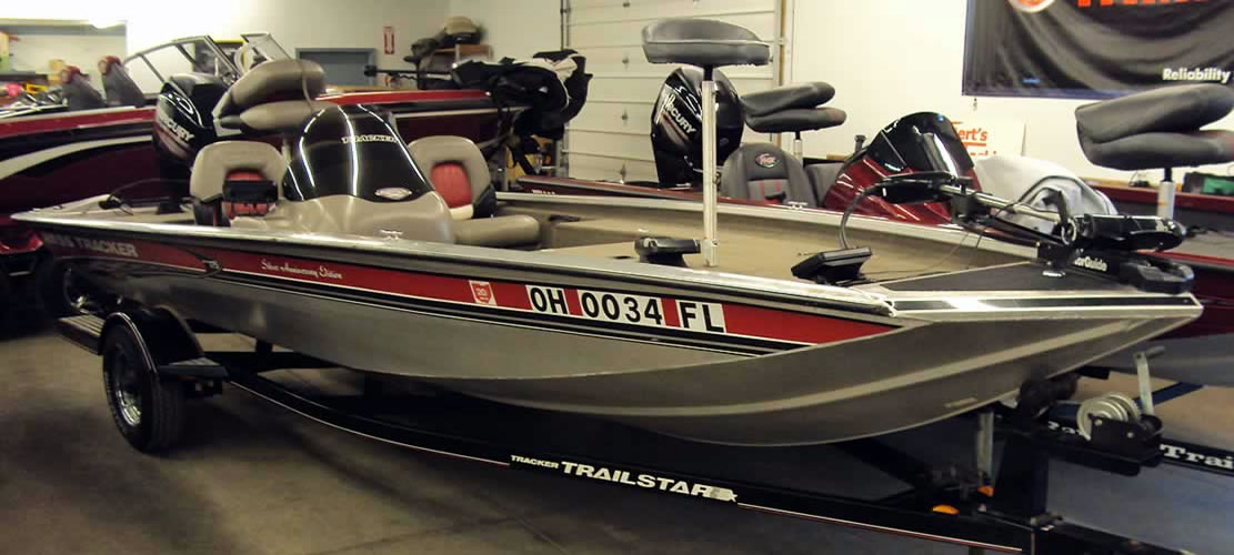 2003 Tracker PT175 SC - Mercury 60 Four Stroke