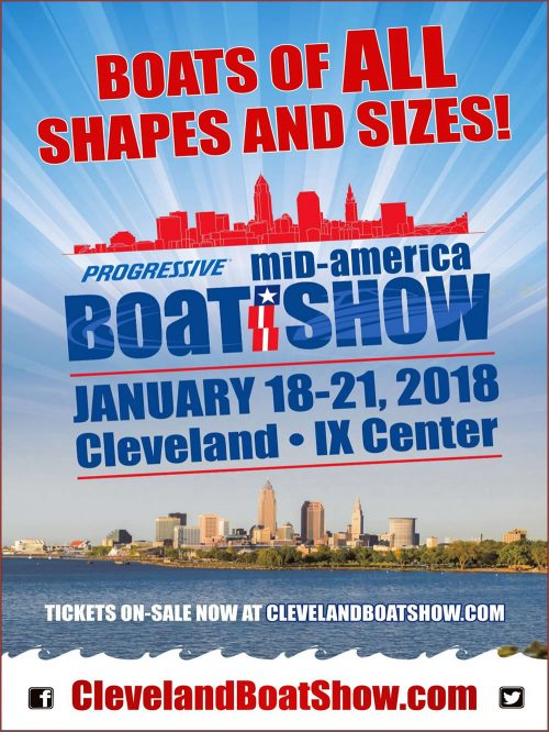 Mid-America Boat Show - Cleveland IX Center