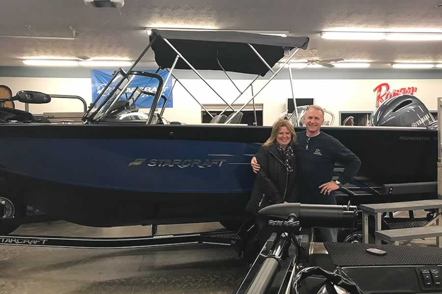 Proud New Owner of this 2018 Starcraft 196 FishMaster
