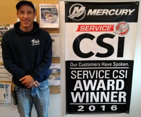 Mercury CSI Award Winning Service