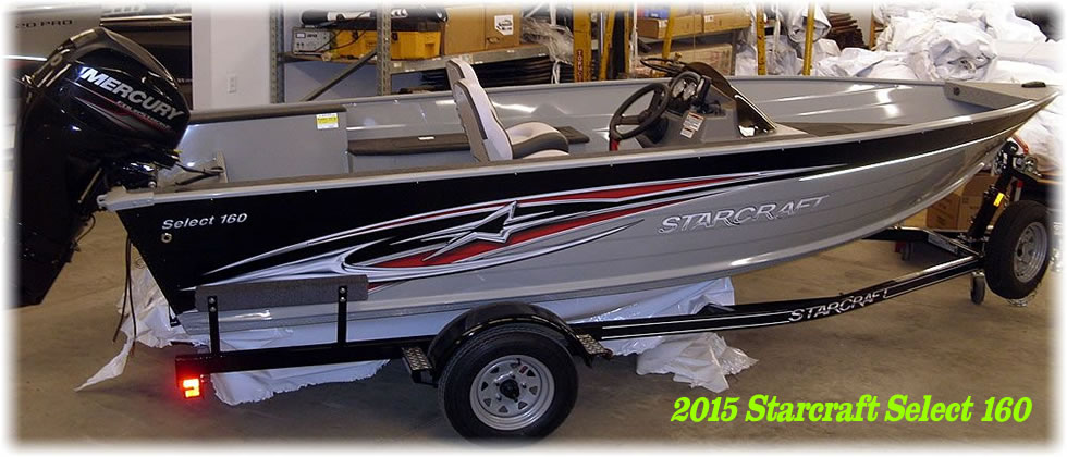 2015 Starcraft Boats Select 160 - Mercury 40 Four Stroke