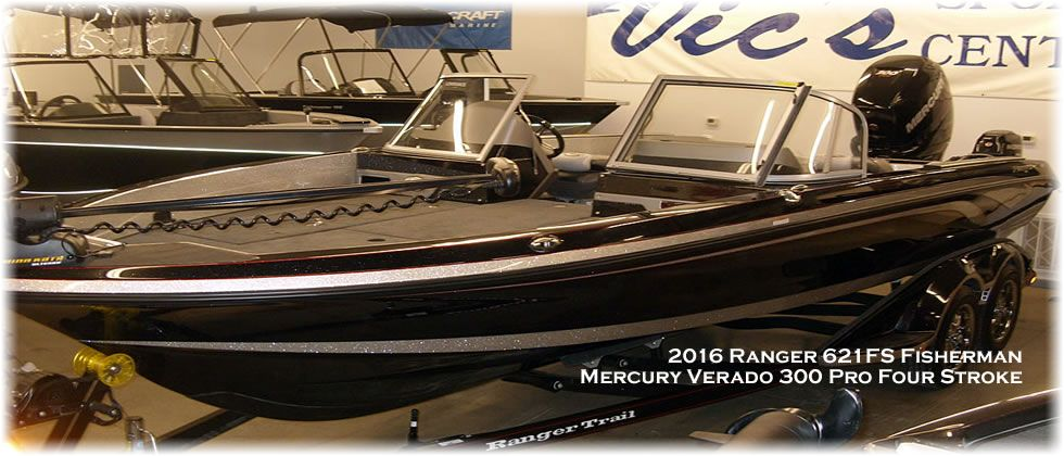 2016 Ranger 621FS Fisherman - Mercury 300 Verado 4-Stroke