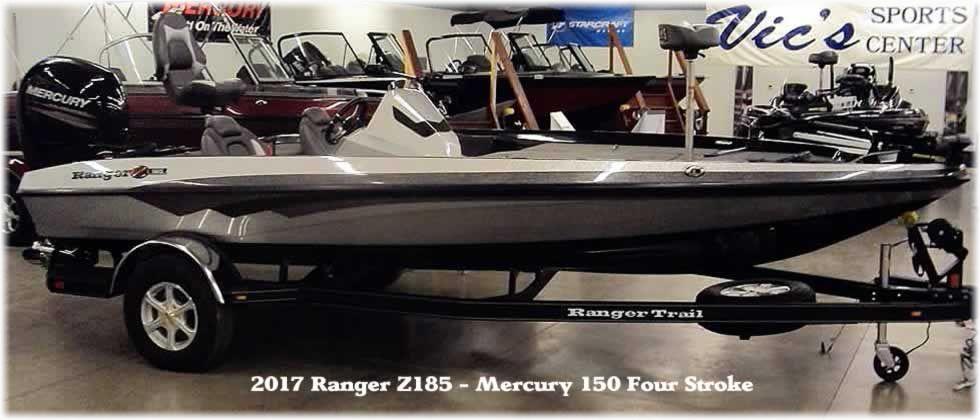 2017 Ranger Z185 SC - Mercury 150 Four Stroke