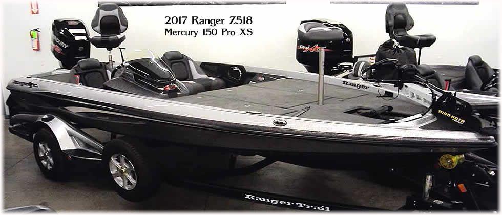 2017 Ranger Z518 - Mercury 150 Optimax Pro XS