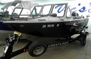 2013 Crestliner 1850 Commander - Mercury 150 Four Stroke
