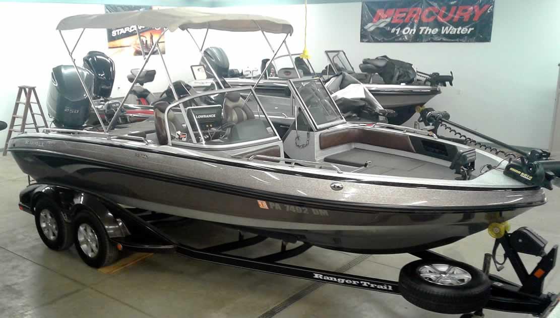 2014 Ranger 2050LS Reata - Yamaha 250 + 9.9 Four Stroke