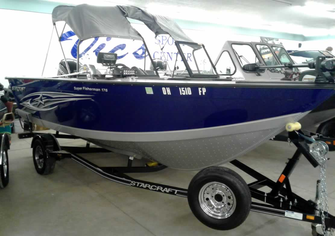 2015 Starcraft 176 Super Fisherman - Mercury 115 Four Stroke
