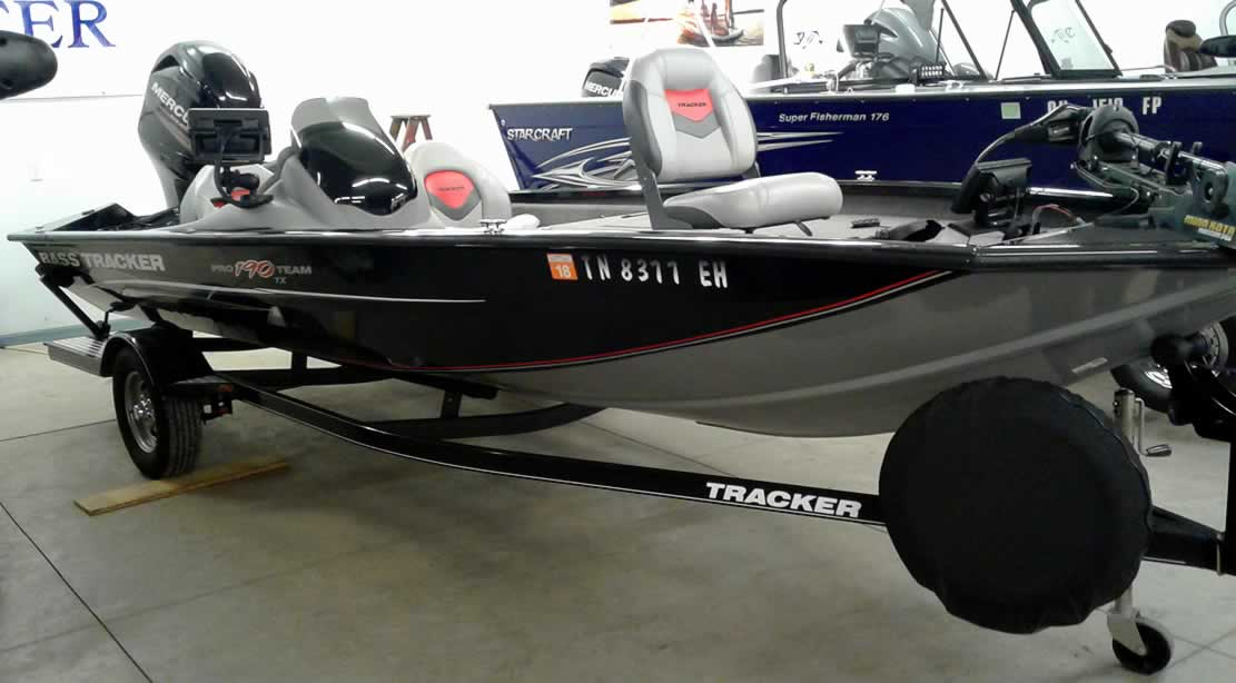 2014 Tracker 190 Pro Team - Mercury 90 Four Stroke
