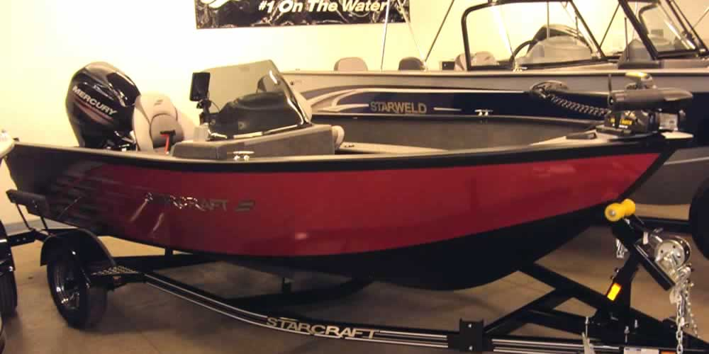 2017 Starcraft Stealth 166 - Mercury 60 Four Stroke