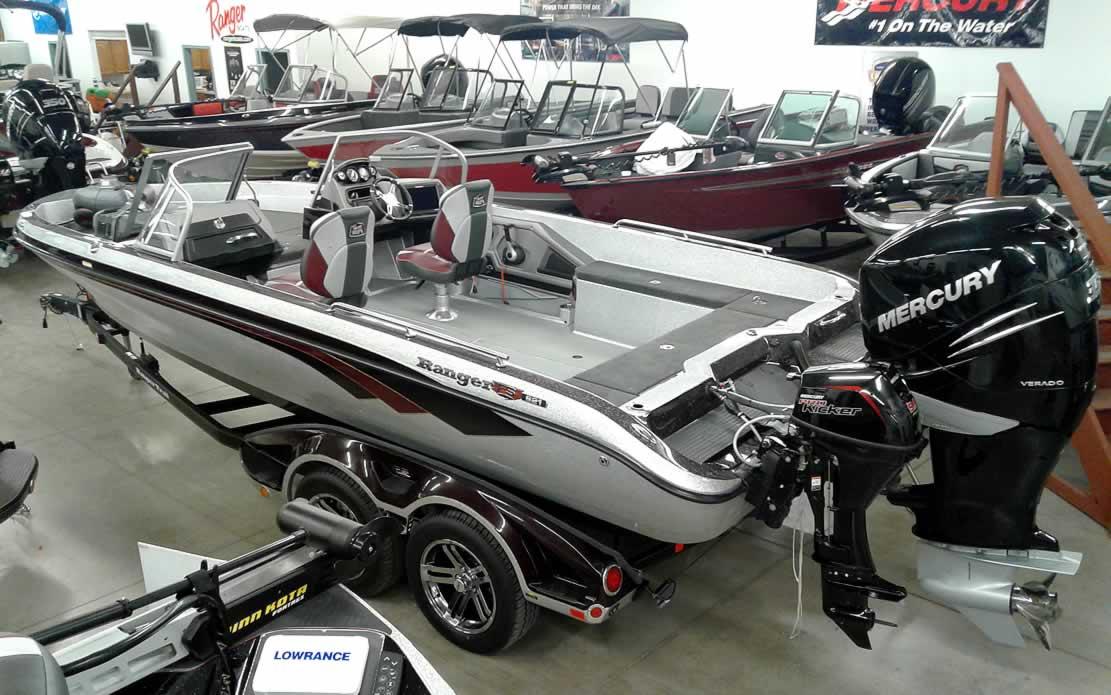 2018 Ranger 621FS Fisherman - Merc 350 Verado + 9.9 Kicker