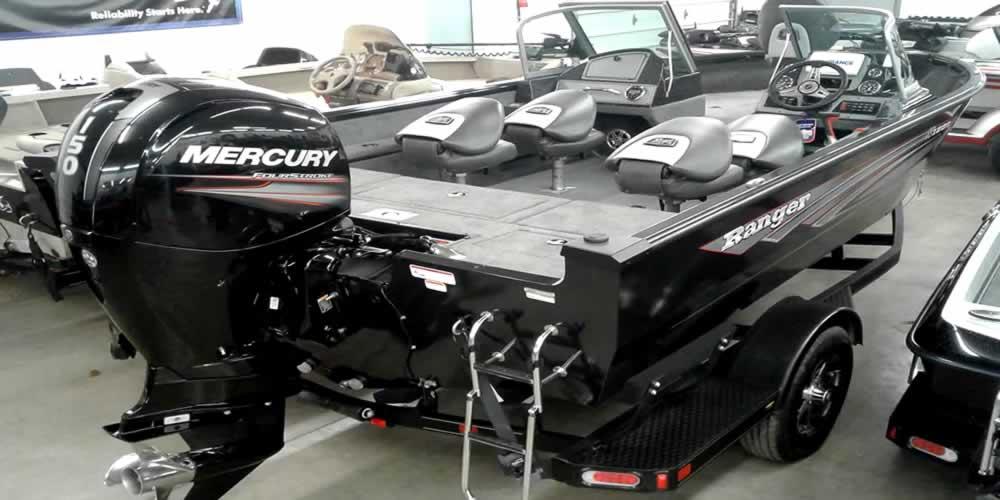 2018 Ranger Aluminum VS1882 WT - Mercury 150 Four Stroke