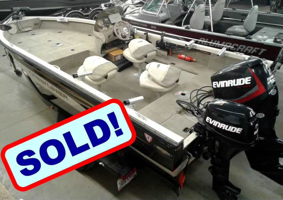 2002 Crestliner 1750 Fish Hawk - SOLD!