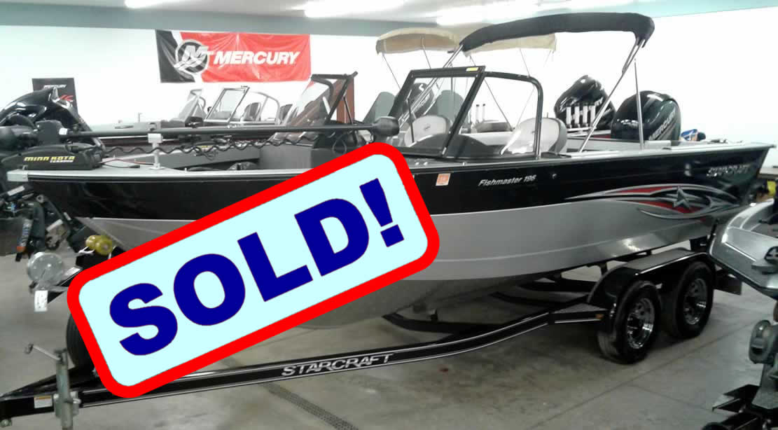 2015 Starcraft 196 FishMaster - SOLD!