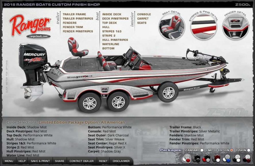 Ranger Boats Z500L - All American Edition