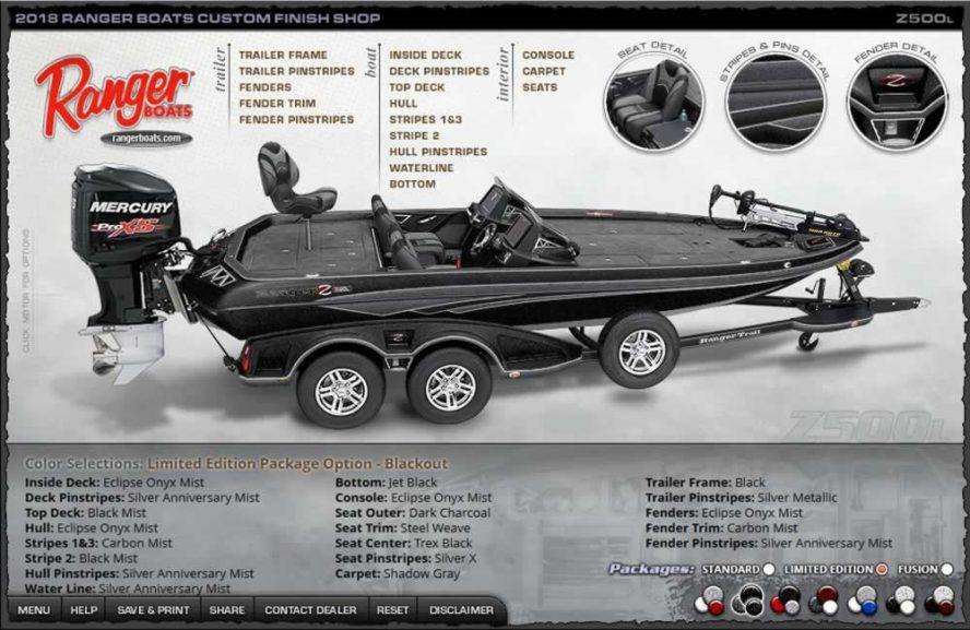 Ranger Boats Z500L - Blackout Edition