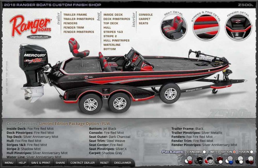 Ranger Boats Z500L - FLW Edition