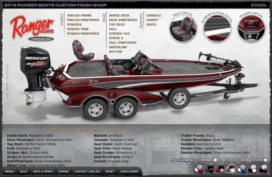 Ranger Boats Z500L - Legacy Edition