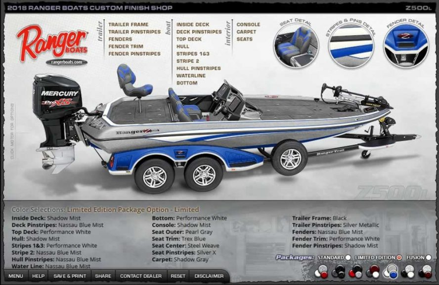 Ranger Boats Z500L - Limited Edition