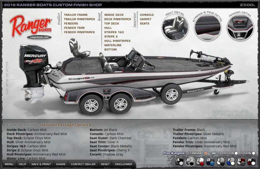 Ranger Boats Z500L - Color Package B