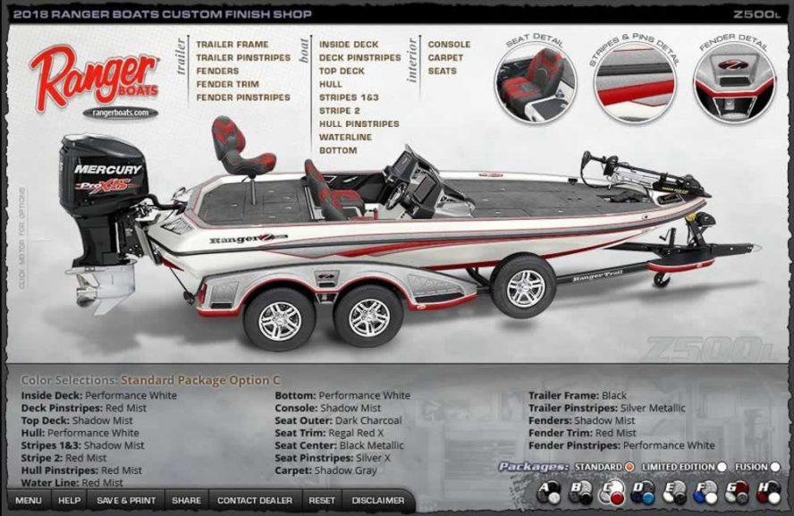 Ranger Boats Z500L - Color Package C