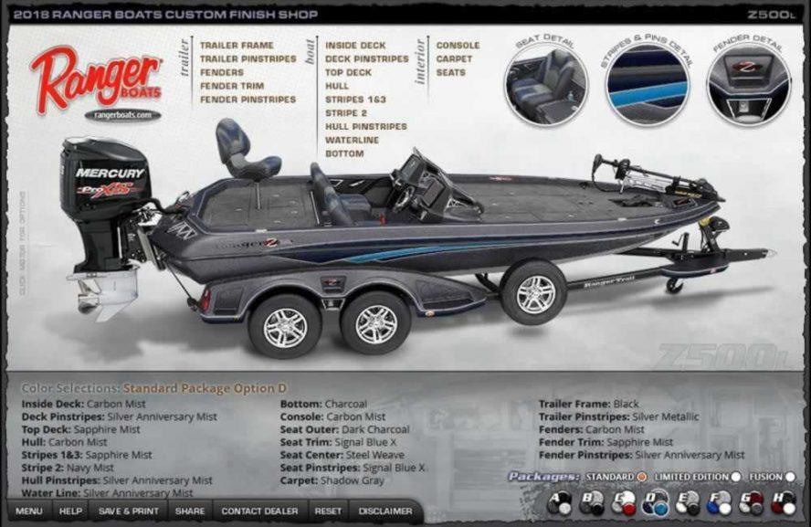 Ranger Boats Z500L - Color Package D