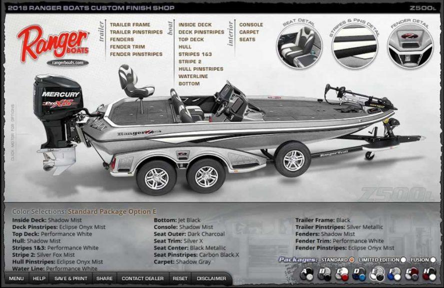 Ranger Boats Z500L - Color Package E