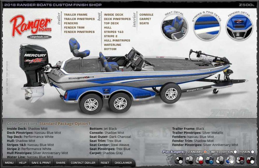 Ranger Boats Z500L - Color Package F