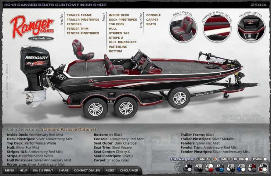 Ranger Boats Z500L - Color Package H