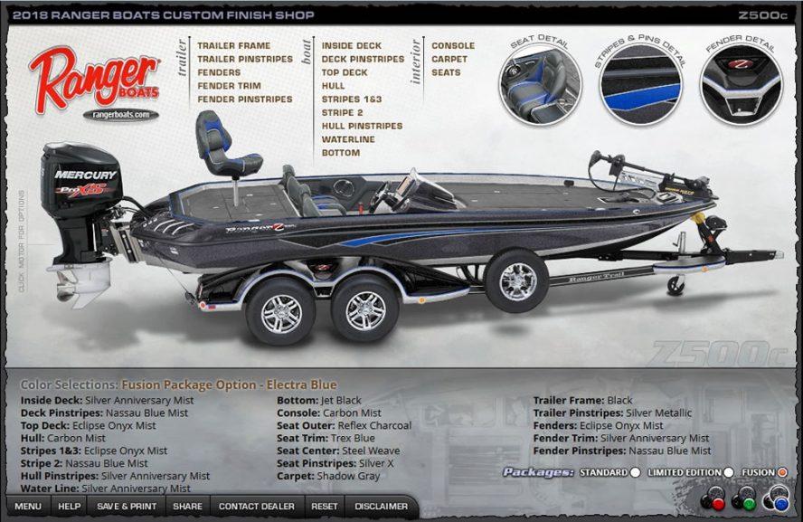 Ranger Z500c - ElectraBlue Fusion