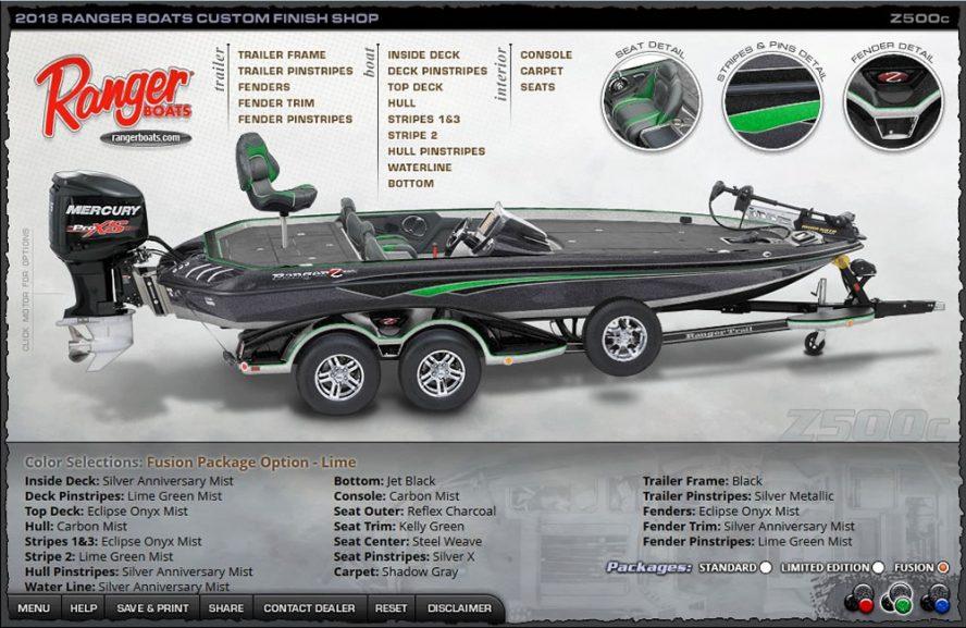 Ranger Z500c - Lime Fusion