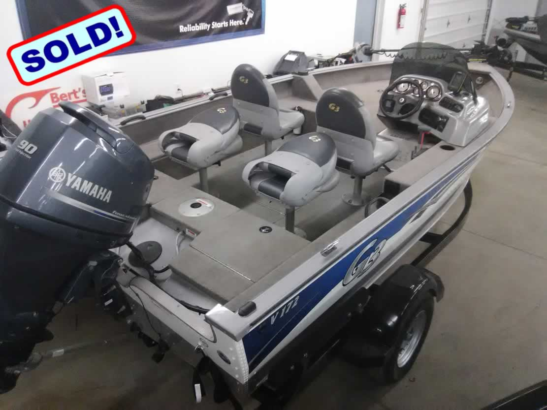 2009 G3 Boats V172 Angler – Yamaha 90 Four Stroke