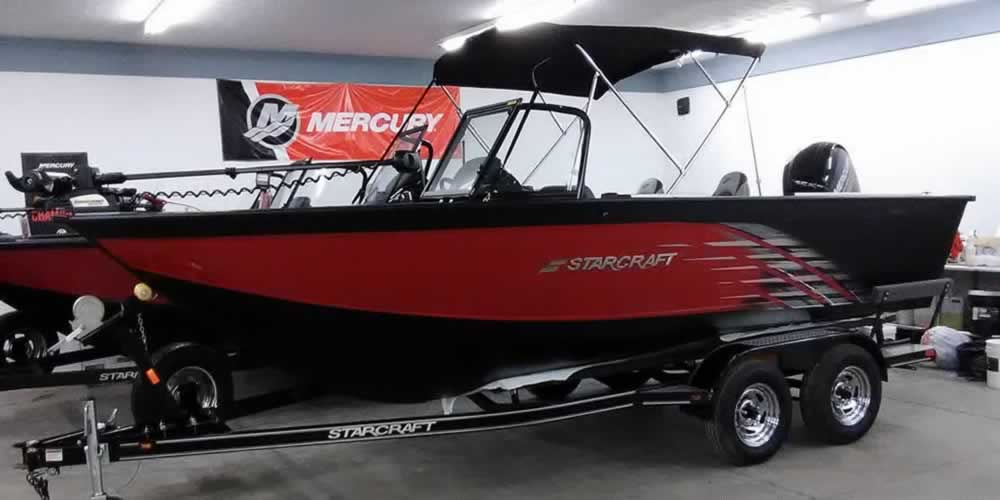 2018 Starcraft 196 FishMaster - Mercury 150 Four Stoke